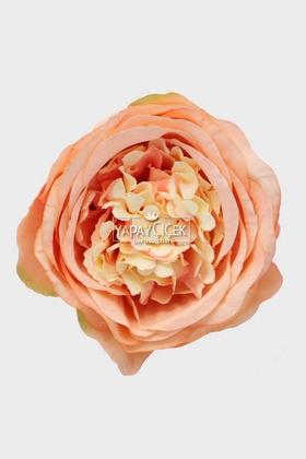 Yapay Çiçek Deposu - Yapay Tek Kafa Şakayık Gül 10 cm Açık Pembe