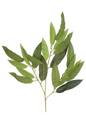 Yapay Çiçek Deposu - Yapay Ceviz Ağacı Dalı 60 cm Yeşil