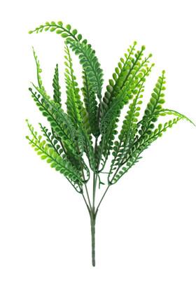 Yapay Çiçek Deposu - 5 Dal Adiantum Yeşillik Demeti Yeşil