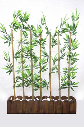 Yapay Çiçek Deposu - Yapay Bambu Seperatör (20x100x138 cm)
