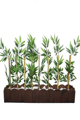 Yapay Çiçek Deposu - Yapay Bambu Seperatör (20x100x80 cm)