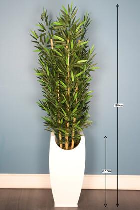 Yapay Çiçek Deposu - Yapay Bambu Ağacı 7 Gövdeli 180 cm Model 23