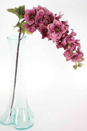 Yapay Çiçek Deposu - Yapma Çiçek Kaliteli Dal Şebboy 87 cm Erguvan