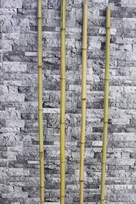 Yapay Çiçek Deposu - Doğal Gerçek Bambu 230 cm