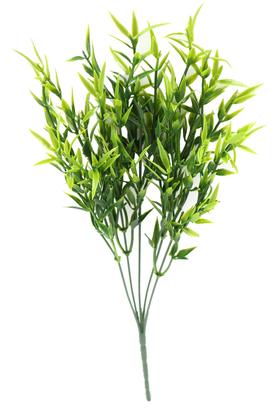 Yapay Çiçek Deposu - Kaliteli Yapay Yıldız Yeşillik Demeti 33 cm