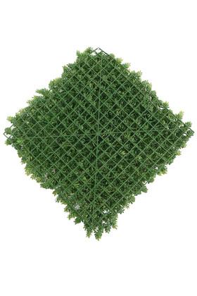Yapay Çamdalı Model Duvar Bitki Kaplaması 50x50 cm Açık Yeşil - Thumbnail