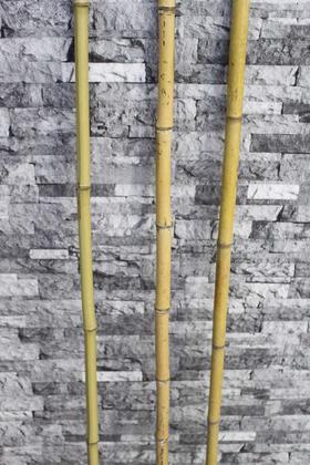 Yapay Çiçek Deposu - Doğal Gerçek Bambu 115 cm