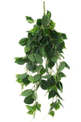 Yapay Çiçek Deposu - Gerçek Dokulu Islak Lüx Sarmaşık 100 cm Sivri Model