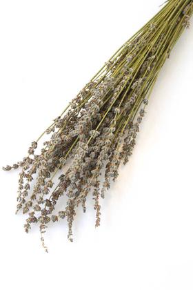 Yapay Çiçek Deposu - Kuru Çiçek Gerçek Lavanta Demeti(80 gr) Naturel