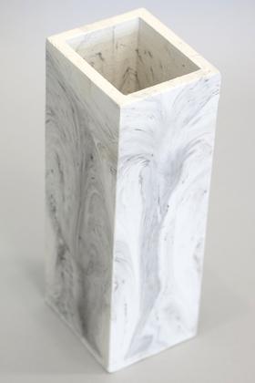 Yapay Çiçek Deposu - Handmade Beton Kuru Çiçek Vazosu 18 cm