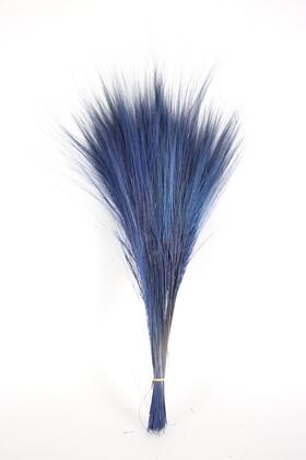 Yapay Çiçek Deposu - İspanyol Barba İpek Dokulu 75 cm Parlement Mavisi