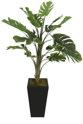 Yapay Çiçek Deposu - Kalın Gövdeli Yapay Deve Tabanı Ağacı 170 cm ( Monstera Deliciosa)