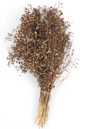 Yapay Çiçek Deposu - Kuru Çiçek Cipso Demeti Kahverengi