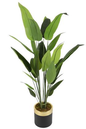 Yapay Çiçek Deposu - Metal Saksıda Yapay Starliçe Ağacı 180 cm