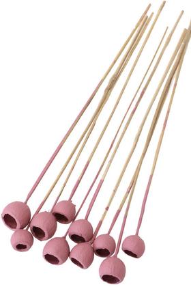 Yapay Çiçek Deposu - Dekoratif Küçük Bell Cup 10lu Tropic Kabak Soft Pembe