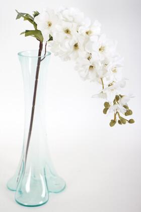 Yapay Çiçek Deposu - Yapma Çiçek Kaliteli Dal Şebboy 87 cm Beyaz