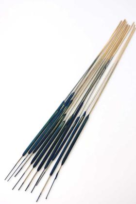 Yapay Çiçek Deposu - Kuru Dal İnce Sosis Kamış Spadix 70cm Gece Mavisi 10lu(Kadife Kaplama)