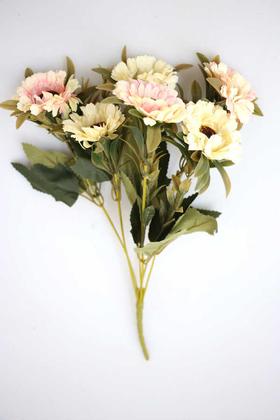 Yapay Çiçek Deposu - Yapay 6lı Gerbera Demeti Açık Pembe