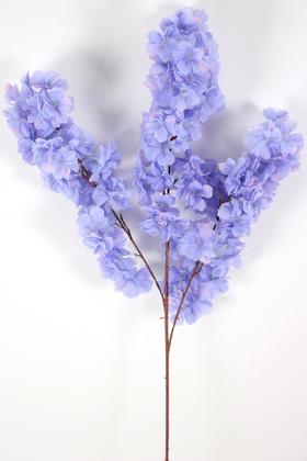 Yapay Çiçek Deposu - Yapay Kaliteli Kabarık Bahar Dalı 95 cm Leylak