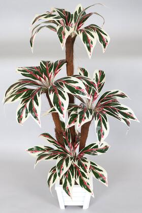 Yapay Çiçek Deposu - Bodur Yapay Ağaç Cordyline 120 cm Model 3
