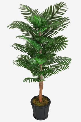 Yapay Çiçek Deposu - Oval Saksıda Areka Ağacı 24 Yapraklı 180 cm