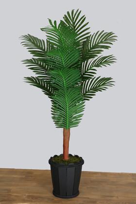 Yapay Çiçek Deposu - Yapay Areka Ağacı Palmiyesi 140 cm 14 Yapraklı