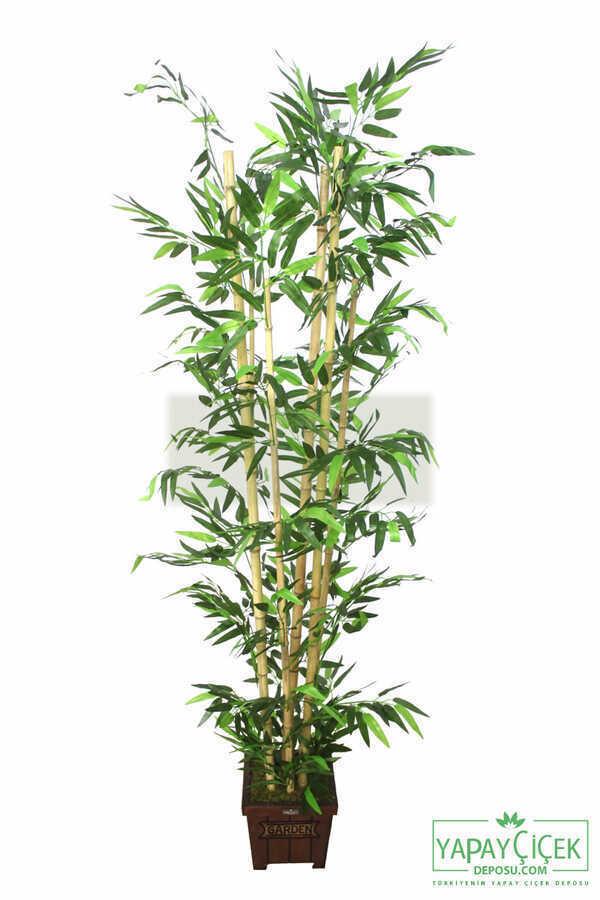 Yapay Bambu Ağacı 6 Gövde 180 cm Model4