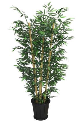 Yapay Çiçek Deposu - Yapay Bambu Ağacı 6 Gövdeli 160 cm Model 26