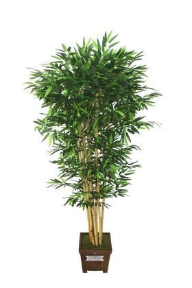 Yapay Çiçek Deposu - Yapay Bambu Ağacı 8 Gövde 190 cm