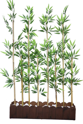 Yapay Çiçek Deposu - Yapay Bambu Seperatör Asorti (20x100x165 cm)