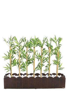 Yapay Çiçek Deposu - Yapay Bambu Seperatör (20x100x85 cm)