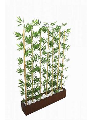 Yapay Çiçek Deposu - Yapay Bambu Seperatör (20x100x170 cm)