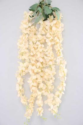 Yapay Çiçek Deposu - Yapay Çiçek 5li Uzun Sarkan Ortanca 85 cm Somon