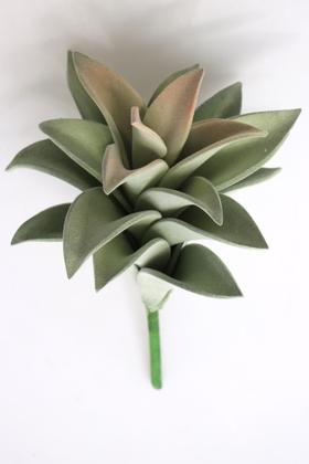 Yapay Çiçek Deposu - Yapay Çiçek Büyük Succulent Sukulent Graptopetalum 25 cm