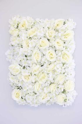 Yapay Çiçek Deposu - Yapay Lüx Dikey Çiçek Duvarı 50x65(1429)