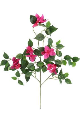 Yapay Çiçek Deposu - Lüx Yapay Begonvil Ağacı Dalı 65 cm