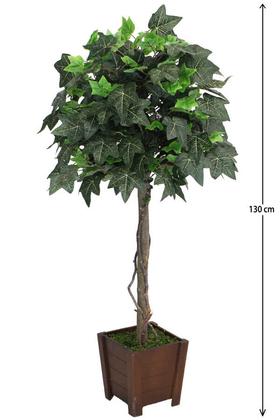 Yapay Çiçek Deposu - Yapay Damarlı Çınar Ağacı 130 cm Yeşil