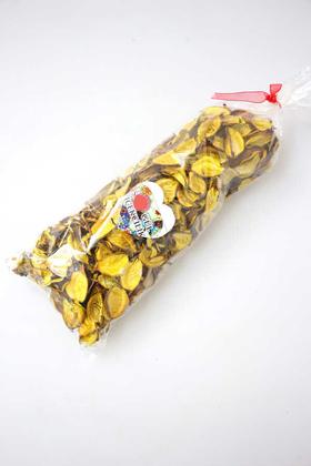 Yapay Çiçek Deposu - 400 Adet Kokulu Gerçek Gül Yaprağı Sarı