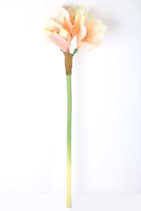 Yapay Çiçek Deposu - Yapay Kaliteli Japon Glayör Çiçeği 75 cm Somon
