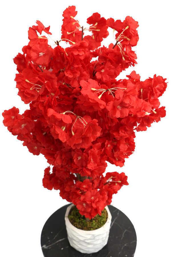 Yapay Küçük Bahar Dalı Ağacı 75 cm Kırmızı