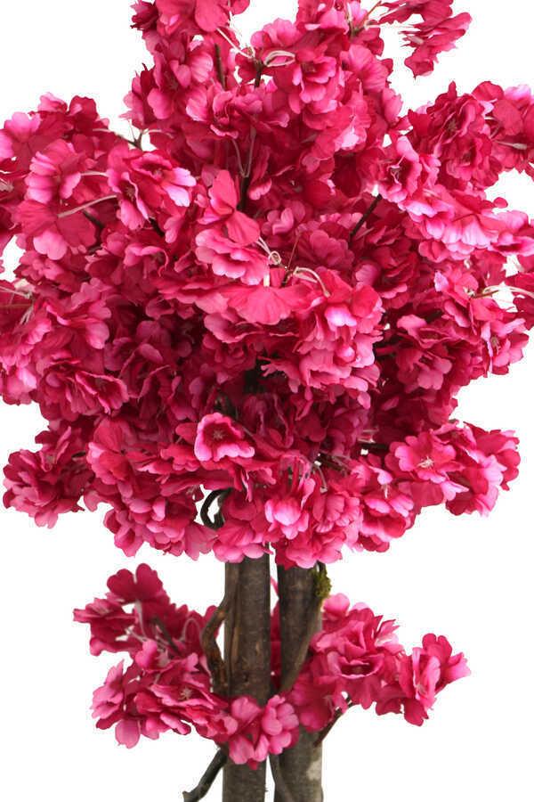 Yapay Küçük Bahar Dalı Ağacı 75 cm Mürdüm