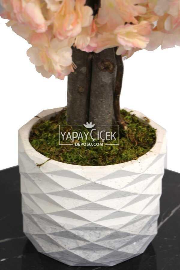 Yapay Küçük Bahar Dalı Ağacı 75 cm Somon