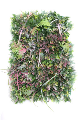 Yapay Çiçek Deposu - Yapay Lüx Dikey Duvar Paneli 45x65