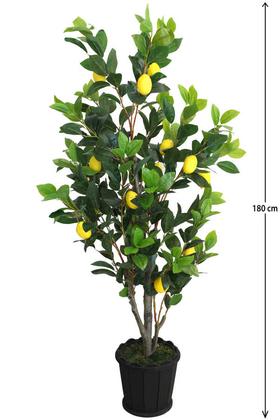 Yapay Çiçek Deposu - Yapay Lüx Limon Ağacı 180 cm