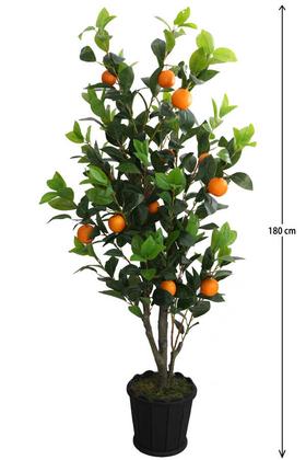 Yapay Çiçek Deposu - Yapay Lüx Portakal Ağacı 180 cm