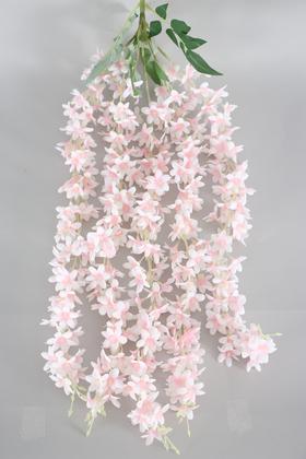 Yapay Çiçek Deposu - Yapay Lüx Sarkan Mine Çiçeği 85 cm Açık Pembe