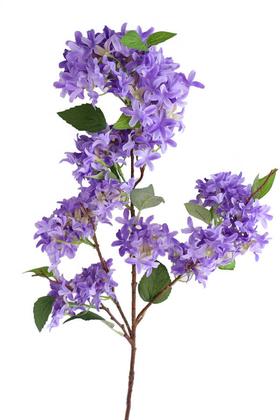 Yapay Çiçek Deposu - Yapay Lüx Uzun dal Saçaklı Mine Çiçeği 100 cm Mor