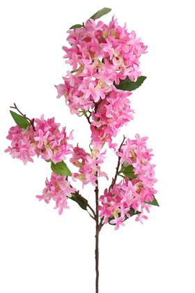 Yapay Çiçek Deposu - Yapay Lüx Uzun dal Saçaklı Mine Çiçeği 100 cm Pembe