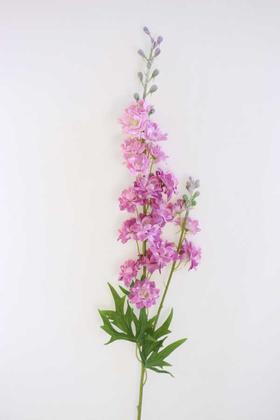 Yapay Çiçek Deposu - Yapay Lüx Zarif Delphinium Dalı 84 cm Lila