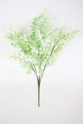 Yapay Çiçek Deposu - Yapay 5 Dal Plastik Maydonoz Bitkisi